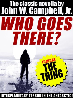 cover image of Who Goes There?