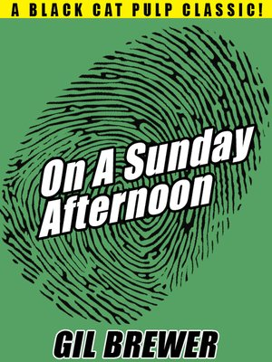 cover image of On a Sunday Afternoon