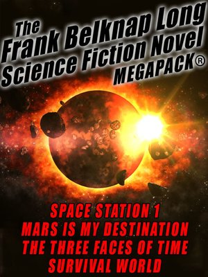cover image of The Frank Belknap Long Science Fiction Novel