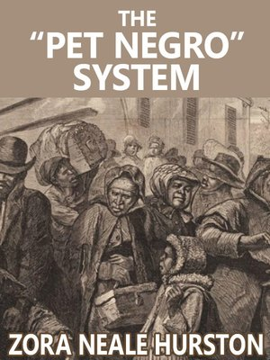 """cover image of The """"Pet Negro"""" system"""