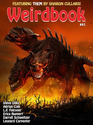 cover image of Weirdbook #41