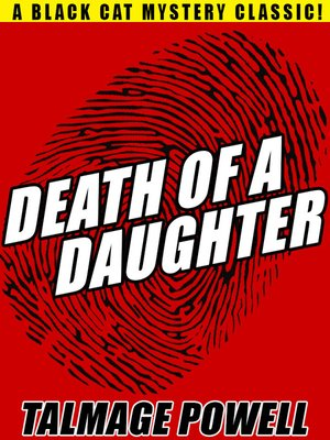 cover image of Death of a Daughter