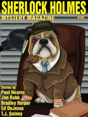 cover image of Sherlock Holmes Mystery Magazine #25