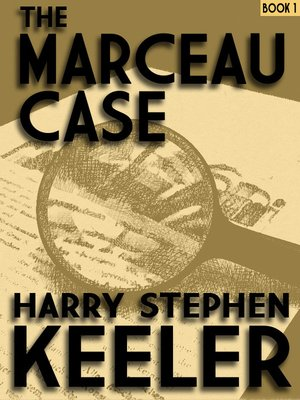 cover image of The Marceau Case