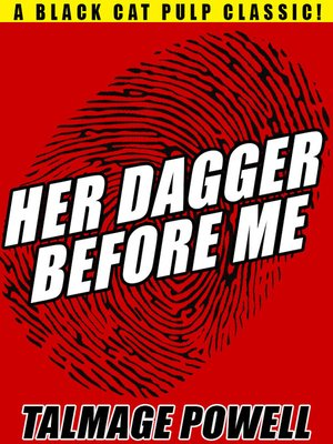 cover image of Her Dagger Before Me