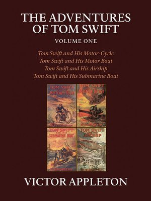 cover image of The Adventures of Tom Swift, Volume 1