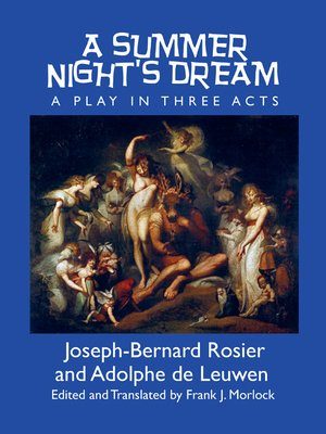 cover image of A Summer Night's Dream