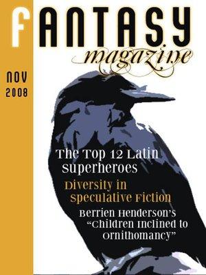 cover image of Fantasy Magazine