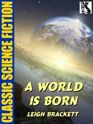 cover image of A World is Born