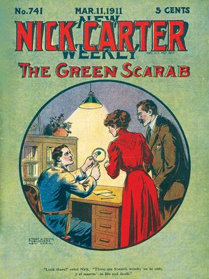 cover image of Nick Carter #741--The Green Scarab