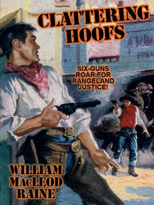 cover image of Clattering Hoofs