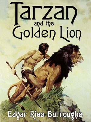 cover image of Tarzan and the Golden Lion
