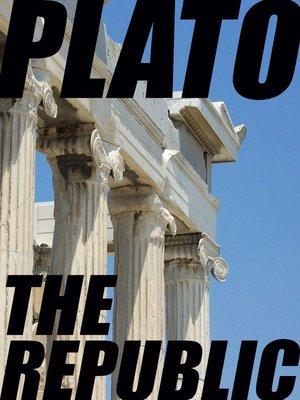 cover image of The Republic (The Republic of Plato)