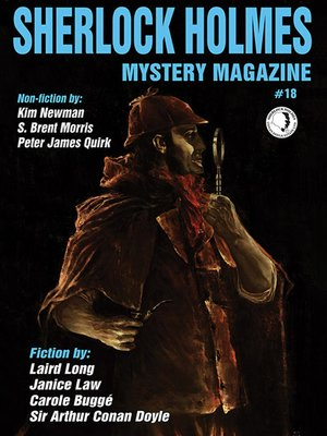 cover image of Sherlock Holmes Mystery Magazine #18