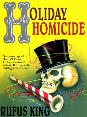 cover image of Holiday Homicide