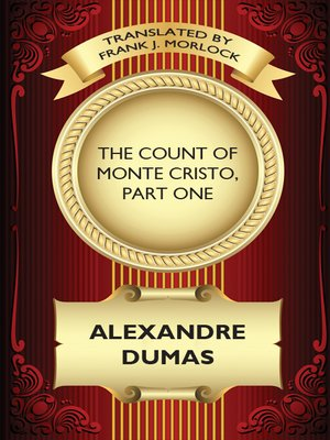 cover image of The Count of Monte Cristo, Part One