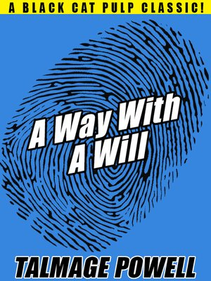 cover image of A Way with a Will