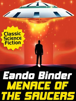 cover image of Menace of the Saucers