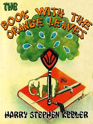 cover image of The Book with the Orange Leaves