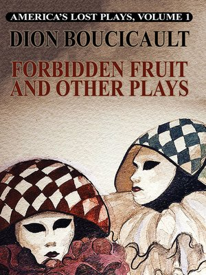 cover image of America's Lost Plays, Volume I