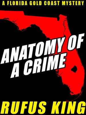 cover image of Anatomy of a Crime