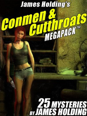 cover image of James Holding's Conmen & Cutthroats