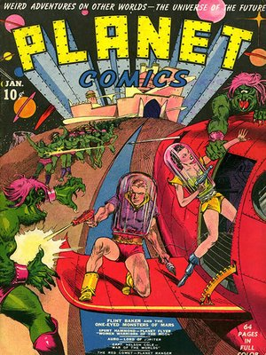 cover image of Planet Comics #1