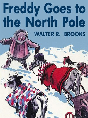 cover image of Freddy Goes to the North Pole