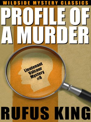 cover image of Profile of a Murder
