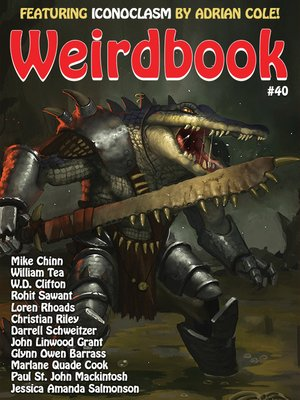 cover image of Weirdbook #40