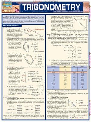 cover image of Trigonometry