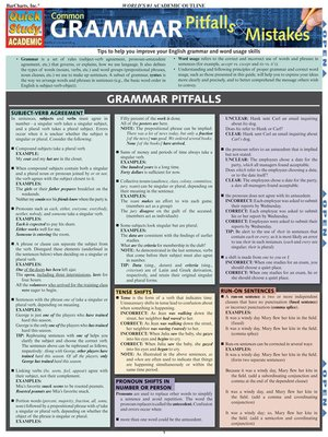 cover image of Common Grammar Pitfalls & Mistakes