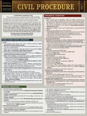 cover image of Civil Procedure