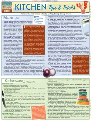 cover image of Kitchen Tips & Tricks