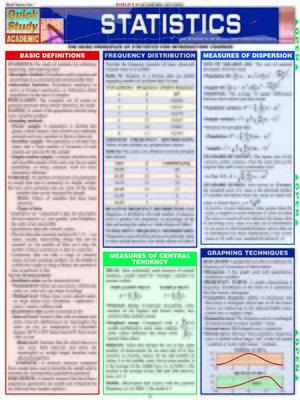 cover image of QuickStudy - Statistics