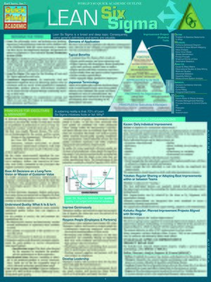 cover image of Lean Six Sigma--Quick Study