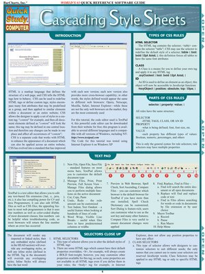cover image of Cascading Style Sheets