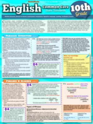 cover image of English Common Core 10th Grade