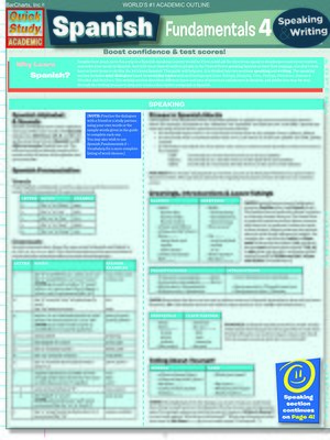 cover image of Spanish Fundamentals 4