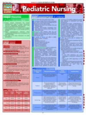 cover image of Pediatric Nursing