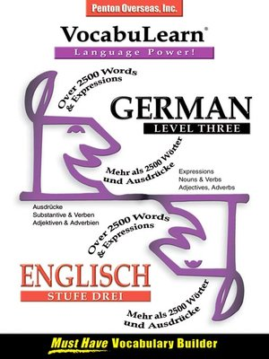cover image of VocabuLearn® German Level Three