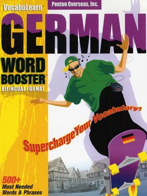 cover image of VocabuLearn® German Word Booster