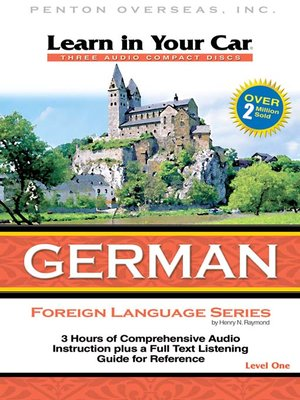 cover image of Learn in Your Car German Level One