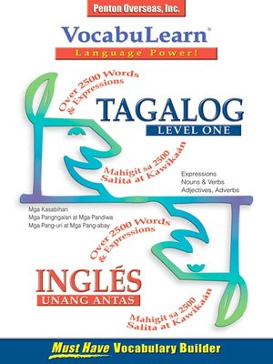 cover image of VocabuLearn® Tagalog Level One