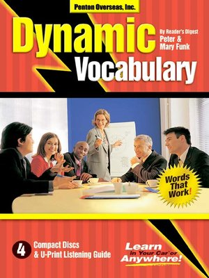 cover image of Dynamic Vocabulary