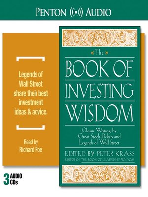 cover image of The Book of Investing Wisdom
