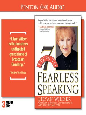 cover image of 7 Steps to Fearless Speaking
