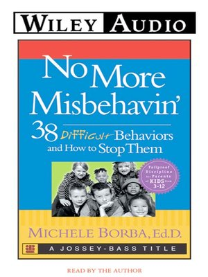 cover image of No More Misbehavin'