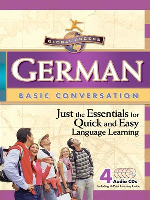 cover image of Global Access German Basic Conversation