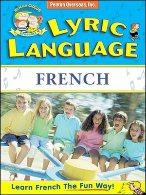 cover image of Lyric Language French